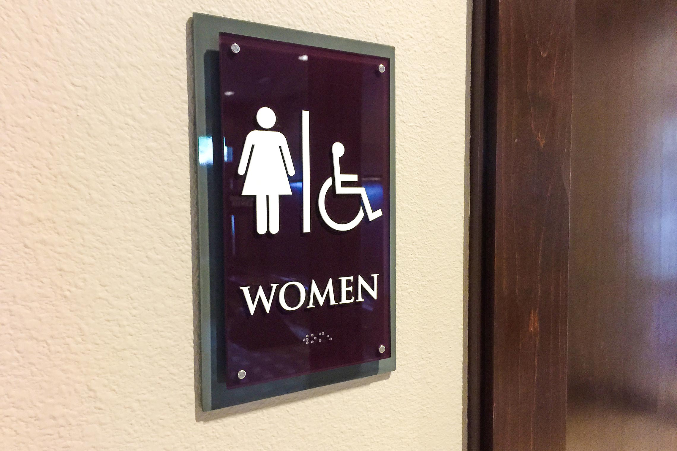 Aura 33Hundred Women Restroom with ADA/Braille