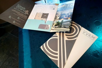 VV&M Pocket Folder and Business Card