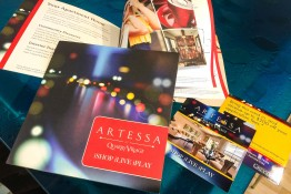 Design Print Studio CityLights Golden - Artessa at Quarry Village 12pg Brochure and Promo Card