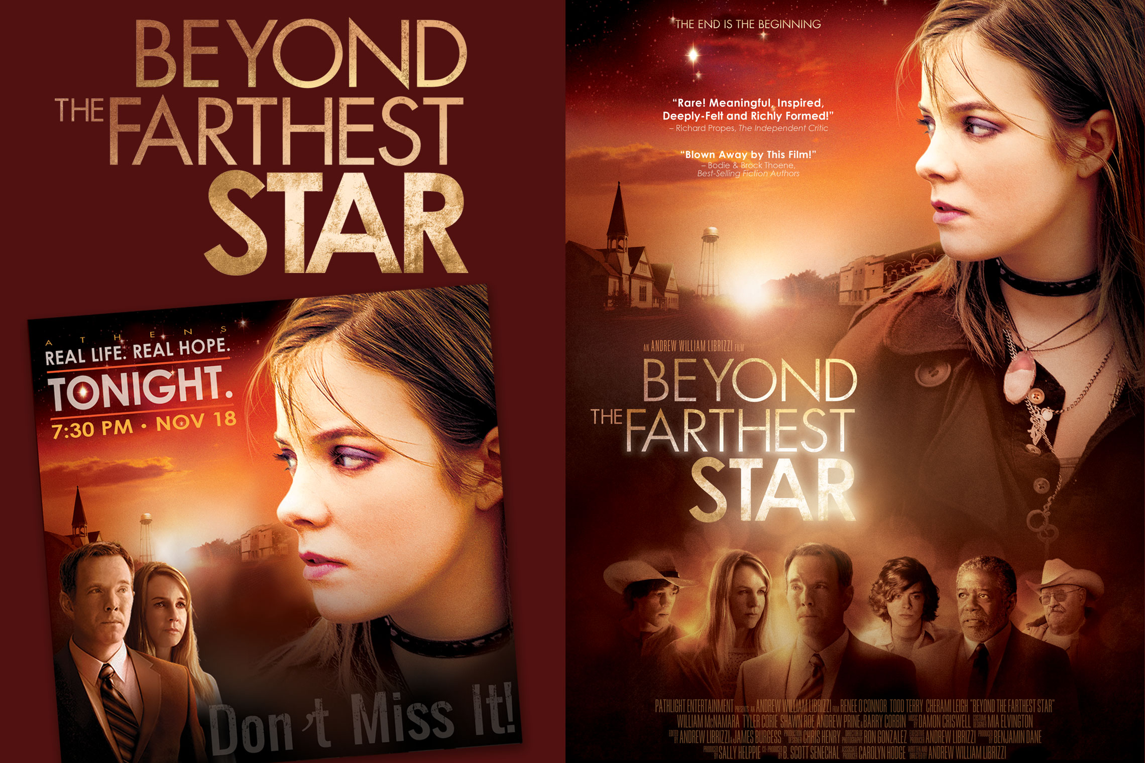 Beyond the Farthest Star Promo Card and Poster