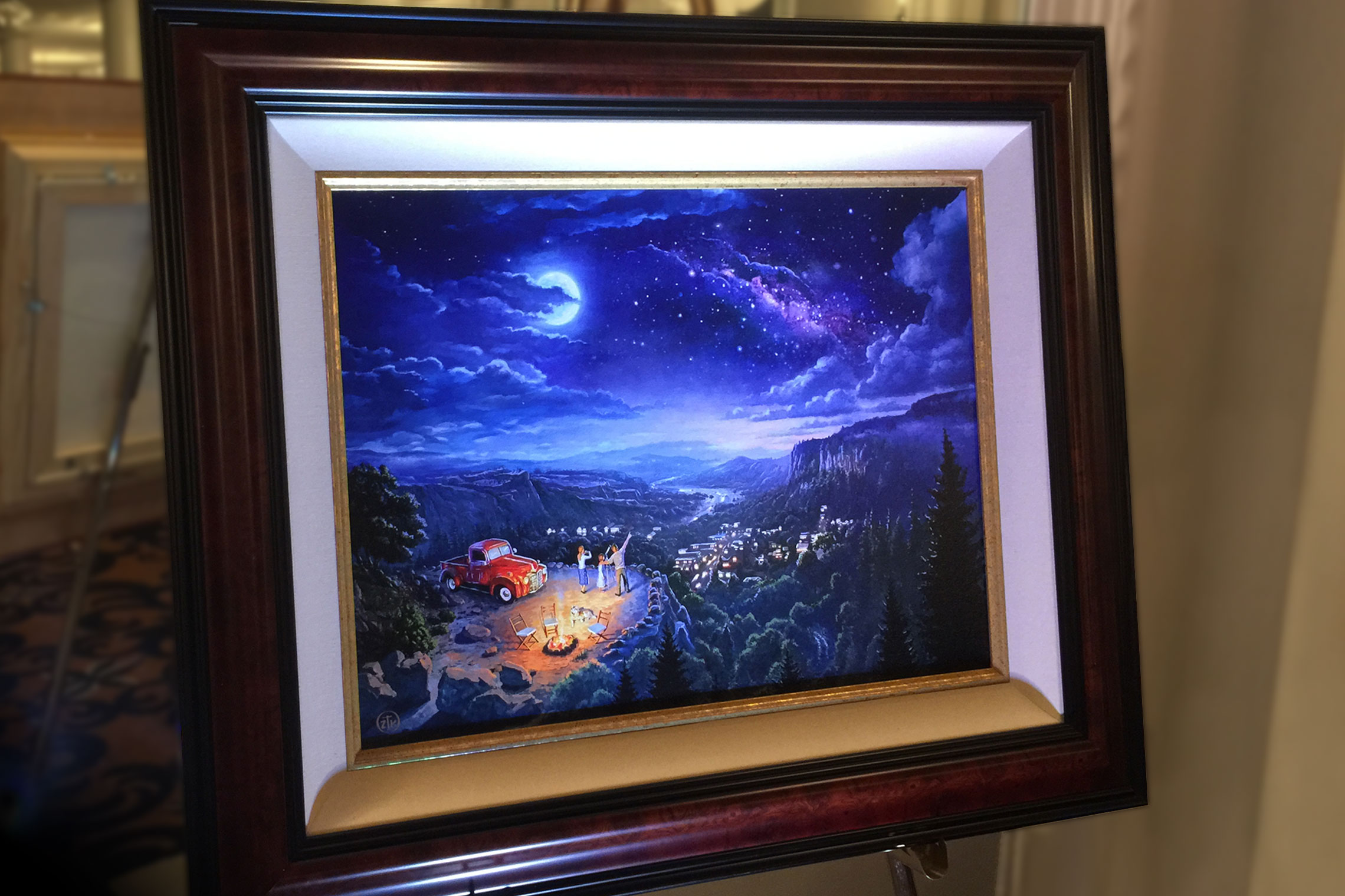 Beyond the Farthest Star Thomas Kinkade Company Painting