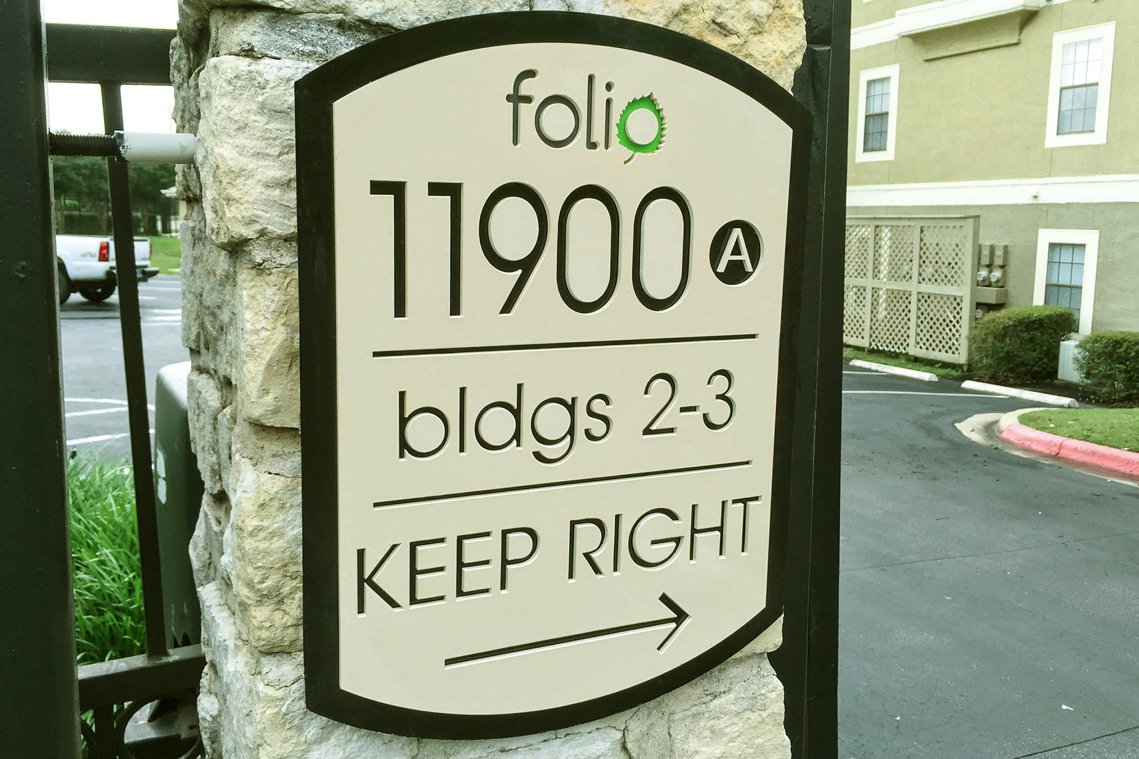 Folio Apartment Homes Building Directional