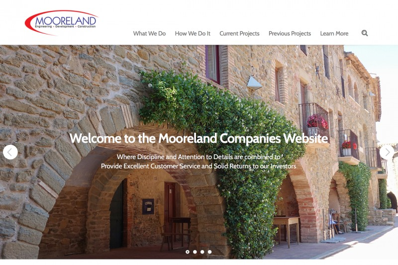 Mooreland Development Responsive WordPress Site