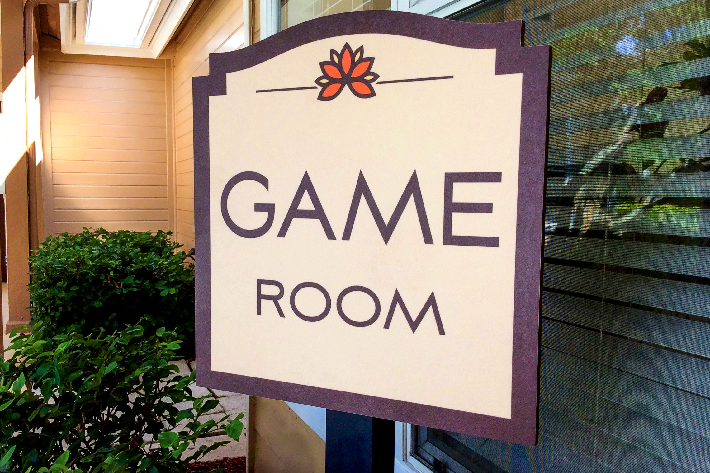 Retreat at Crosstown Apartment Homes Game Room ID on Post