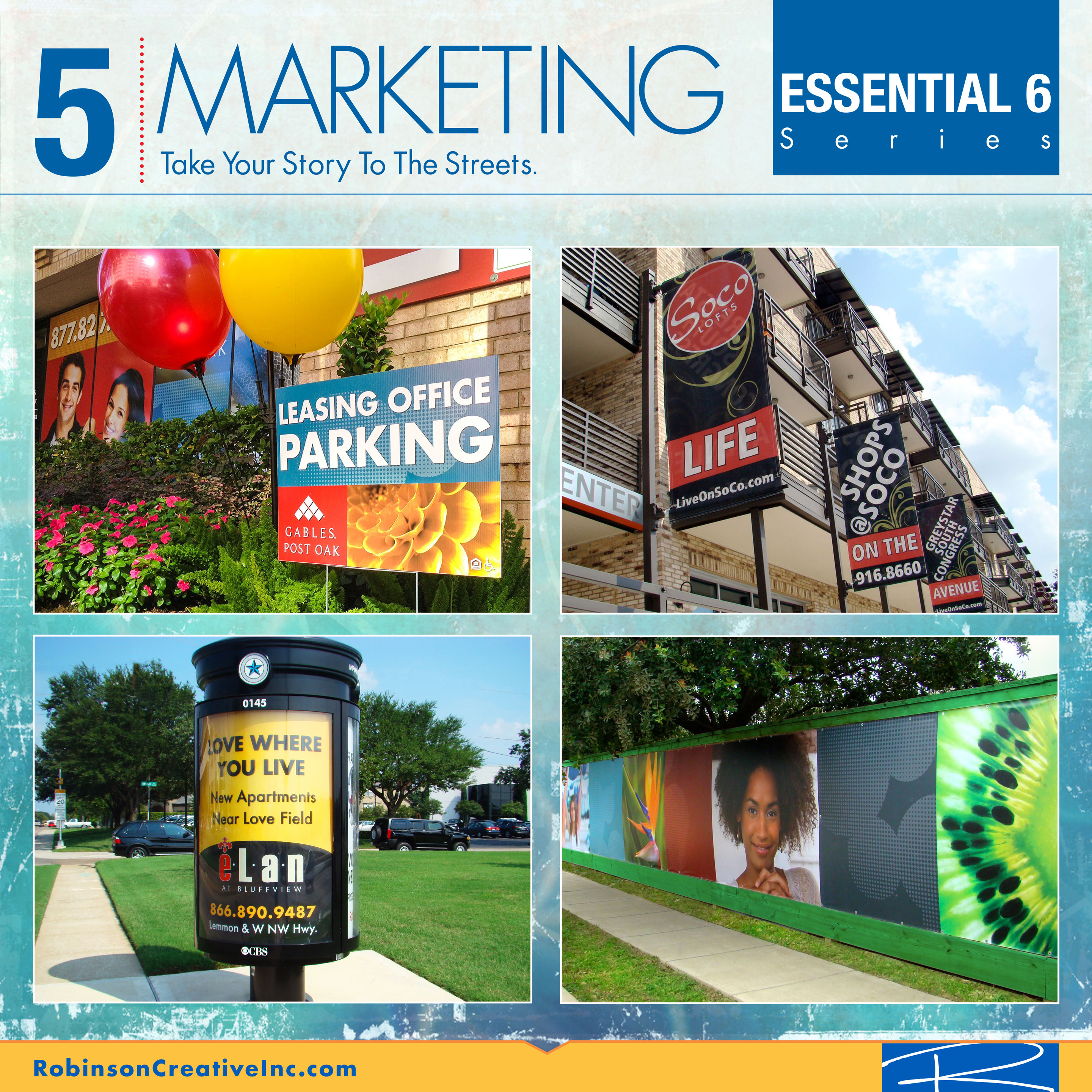 The Essential 6 - Marketing