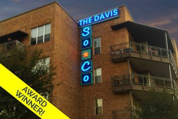 The Davis Soco Urban Industrial Illuminated Neon Wall Identity Sign