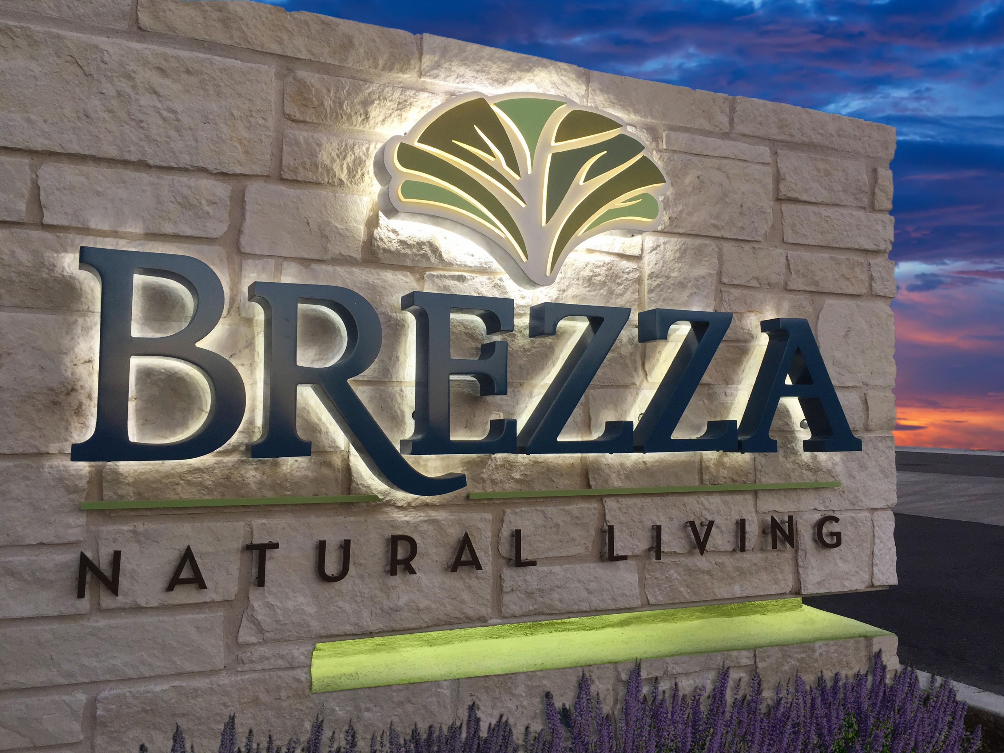 Brezza Monument Sign - Robinson Creative