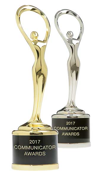 2017 Communicator Awards - Silver & Gold