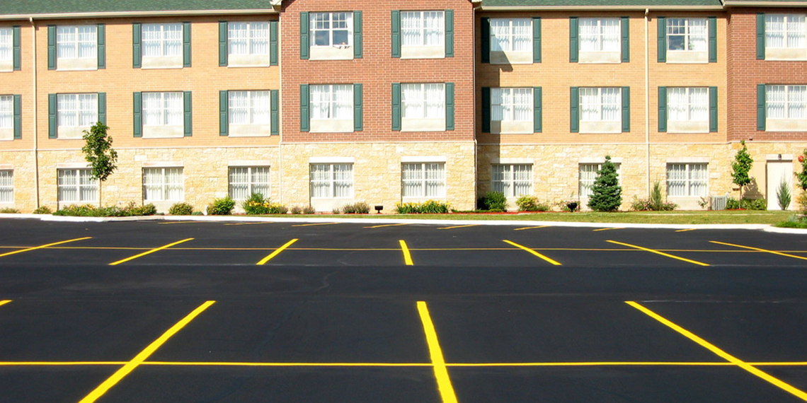 Re-Striping the Parking Lot